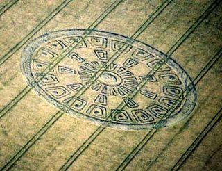 Crop circle mayan calendar
